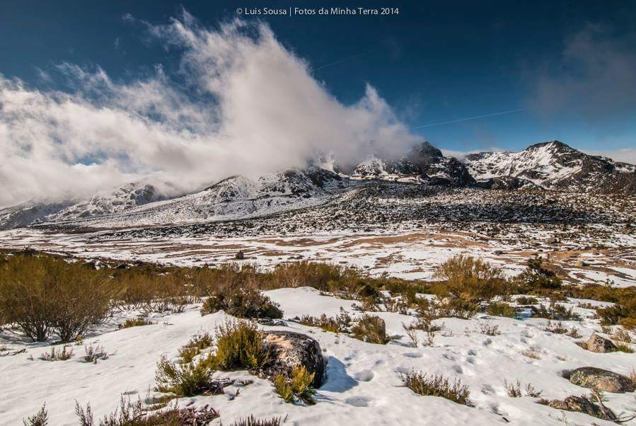 Um dia de sol na neve da Serra da Estrela, pela lente do et(h)eriano Luís Sousa