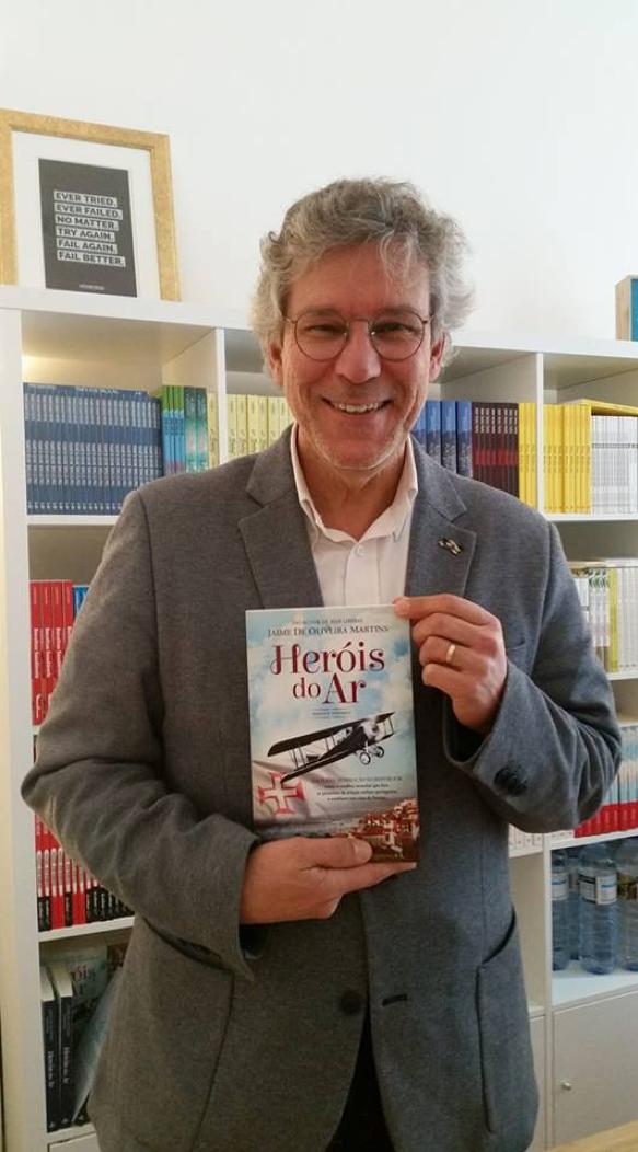 Heróis do Ar, por Jaime Oliveira Martins. Entrevista exclusiva.